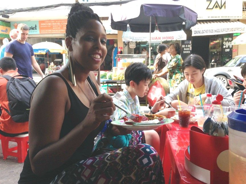 Psychic Zya Eating On The Streets of Vietnam